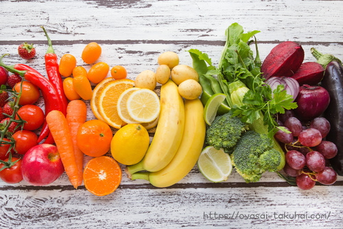 オイシックス、oisixの野菜 オレンジ・レモン・バナナ・レタス・葉物野菜