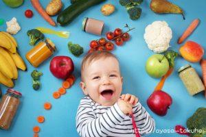 野菜と赤ちゃん