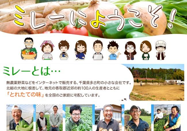 無農薬野菜 ミレー 入会
