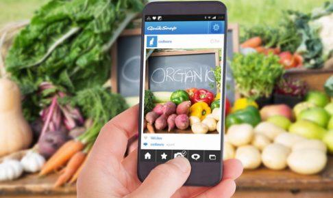 スマホアプリで食材の宅配注文