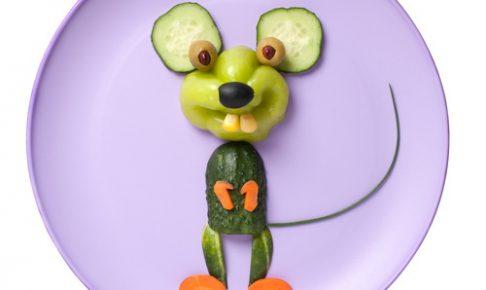 野菜で作ったアニマル