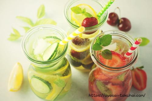 野菜&果物のデトックスジュース