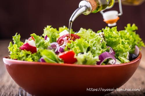 生協の宅配パルシステムの野菜サラダ