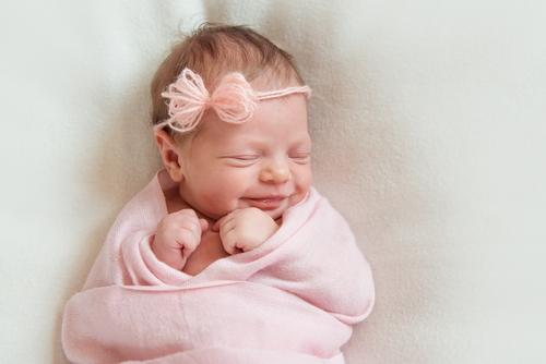 第2子の女の子が生まれました